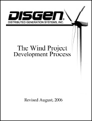 Distributed Generation Systems Inc. - The Wind Project Development Process
